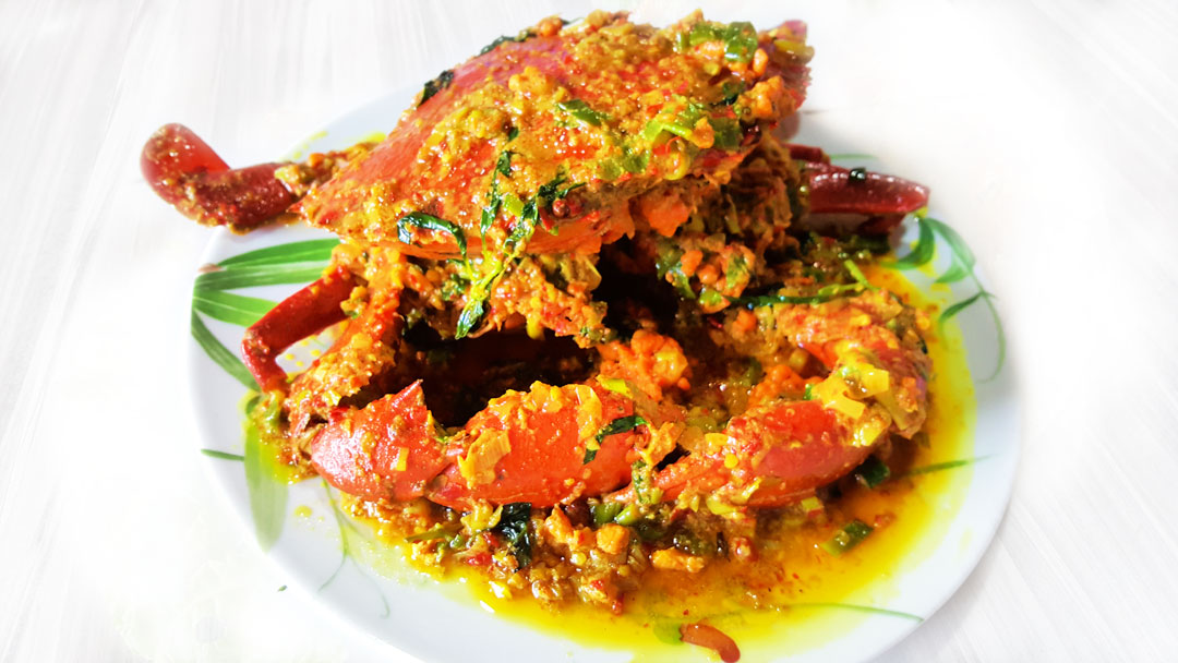 Crab with Woku Spices