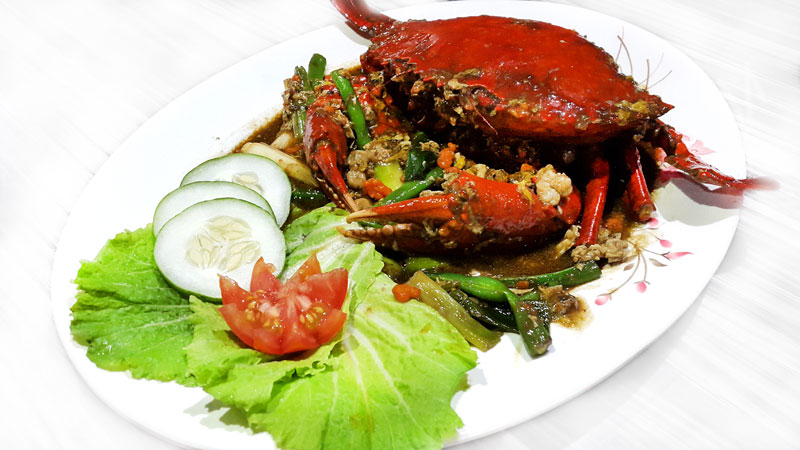 Crab with Padang Souce